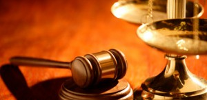 Scales and Gavel Representing An Attorney or Law Firm