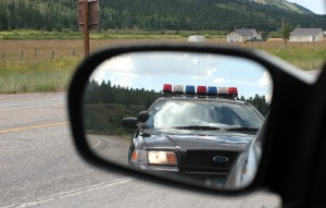 Police In The Mirror